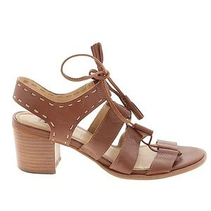 Dune London Lace Up Block Heel Sandals 381